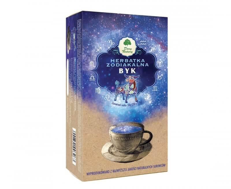 Ekologiczna herbatka zodiakalna Byk