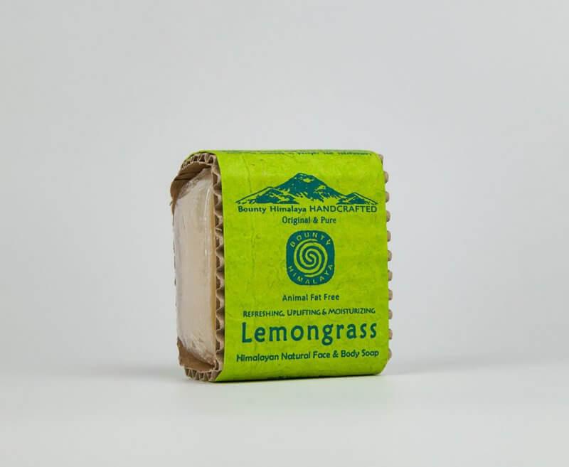Naturalne mydło himalajskie Lemongrass