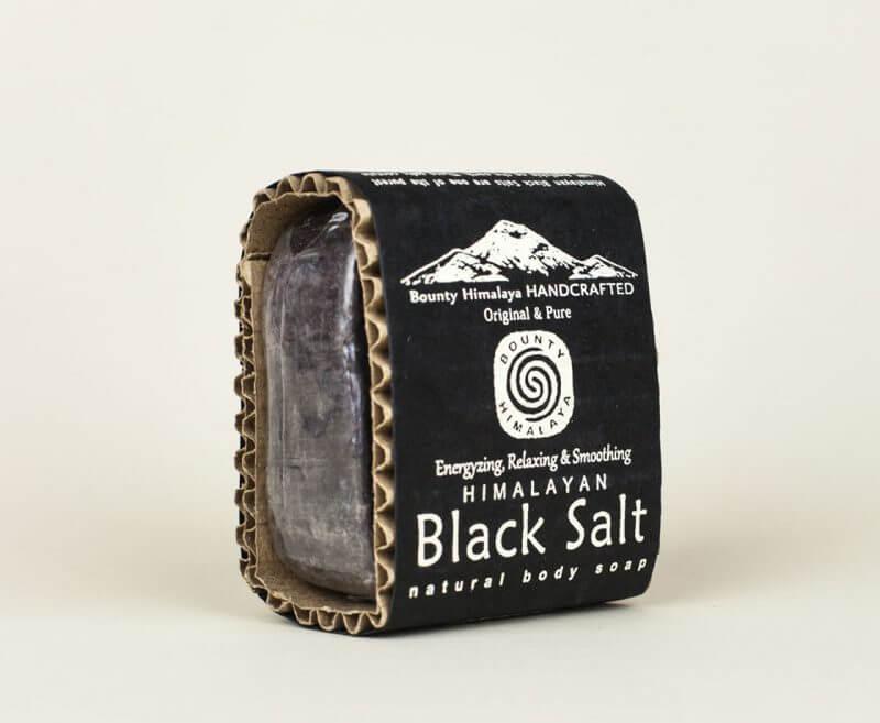 Naturalne mydło himalajskie Black Salt