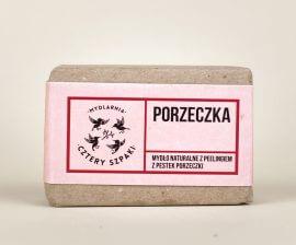 Naturalne mydło peelingujące Porzeczka
