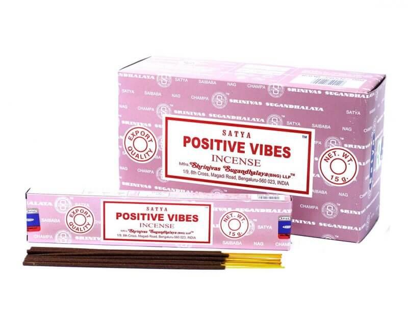 Kadzidełka patyczkowe Positive Vibes