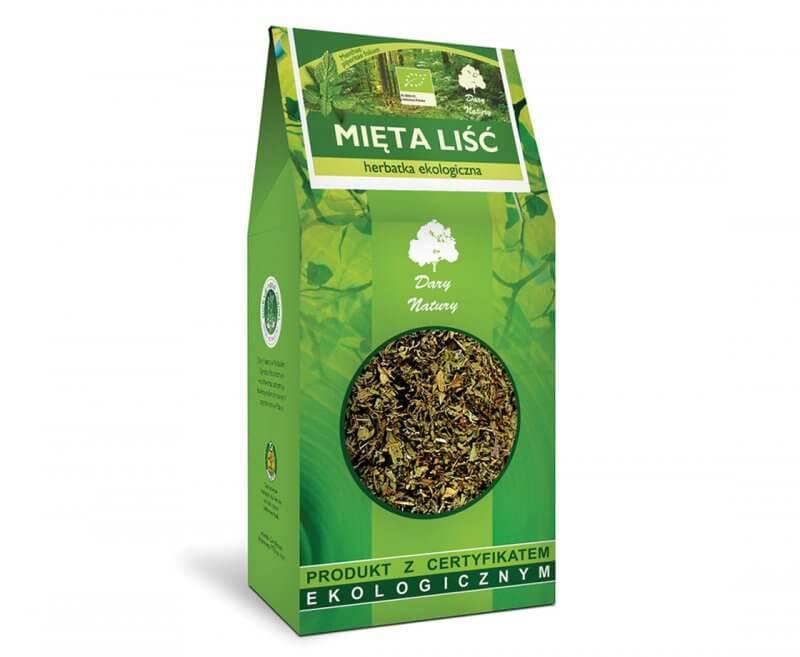 Ekologiczna herbata z liści mięty (100g)