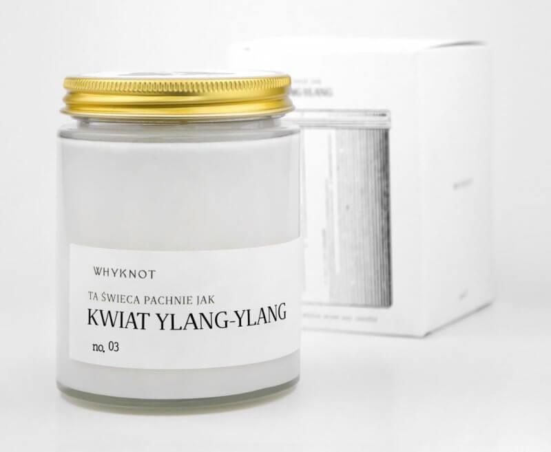 Świeca sojowa Ylang - Ylang