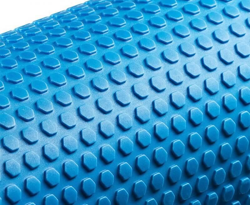 Roller z mini wypustkami niebieski Pentagram 4Fizjo