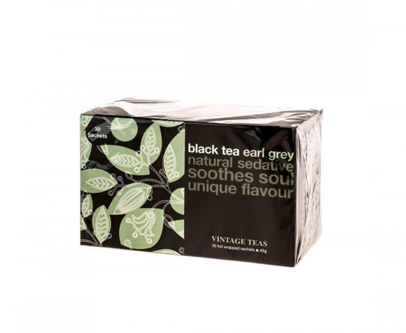 czarna herbata earl grey vintage teas